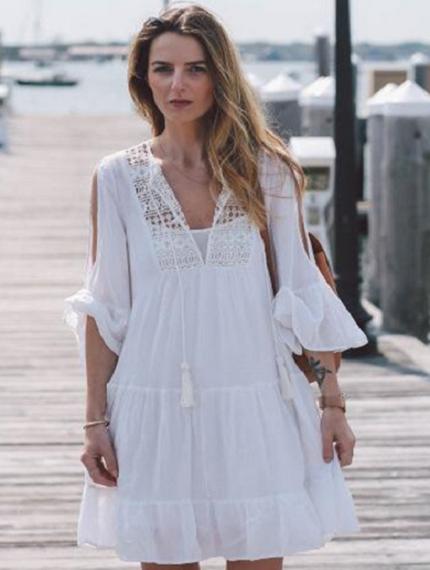 Пляжное платье-3
