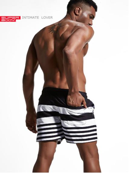 Пляжные мужские шорты-0