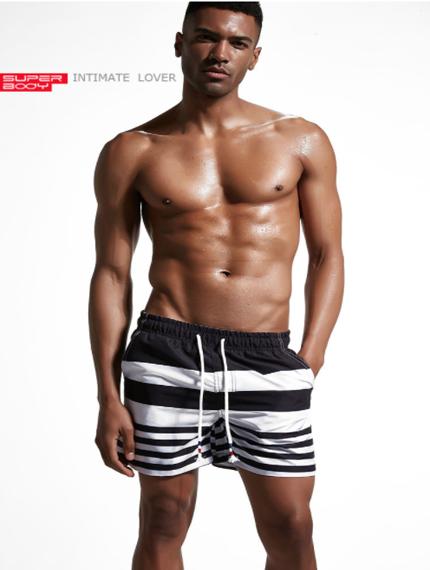 Пляжные мужские шорты-1