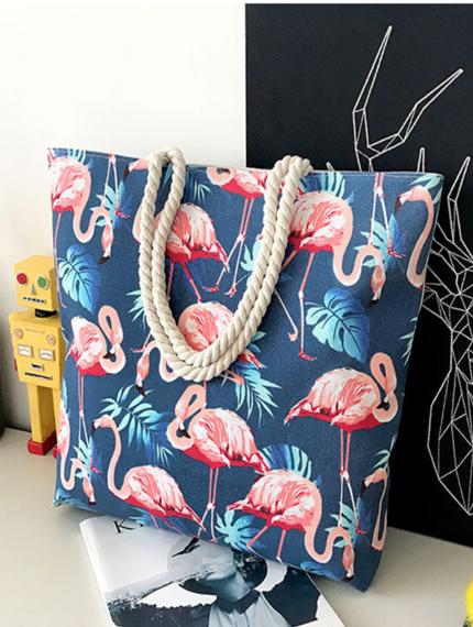 Сумка с фламинго-2
