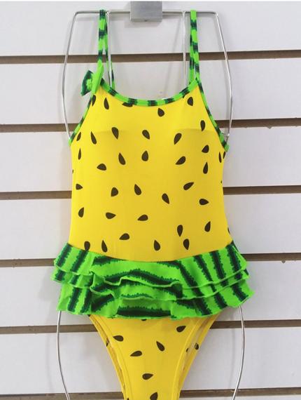 Детский купальник - арбузик