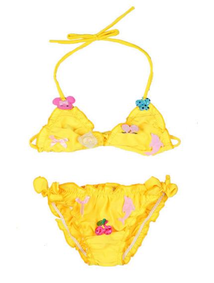 Желтый купальник-0