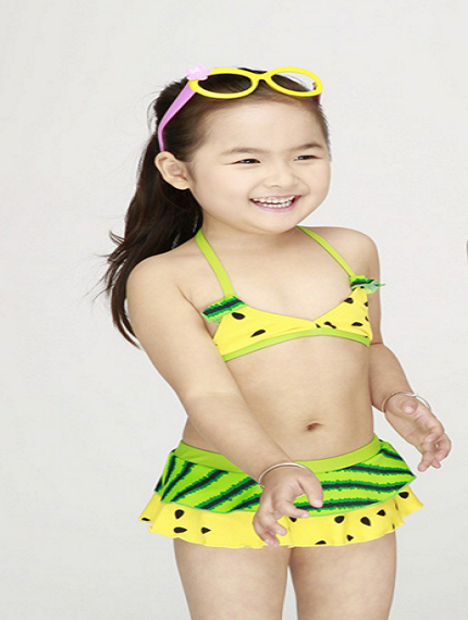 Детский купальник - арбузик-1