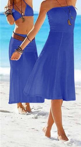 Платье - юбка-0